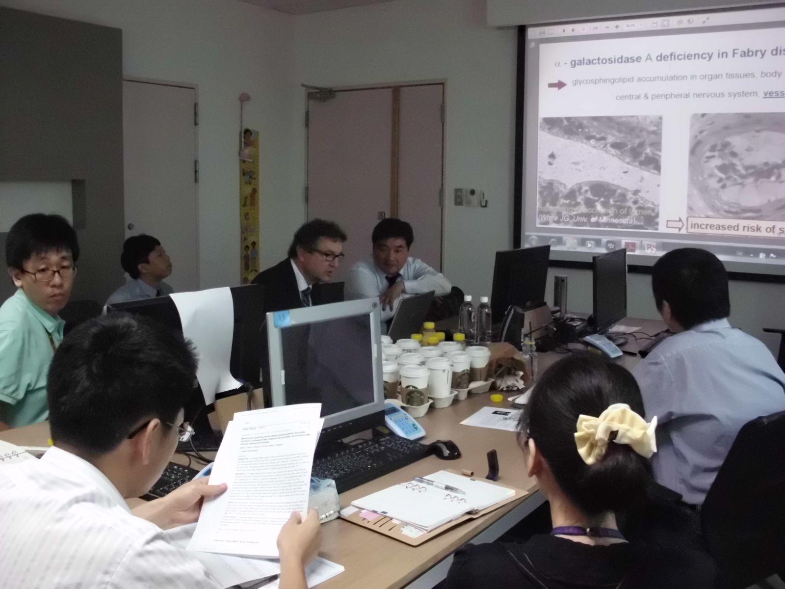 牛道明 Dau-ming niu ; Niu DM 先代會 德國 Dr. Max J. Hilz 來訪並發表演講